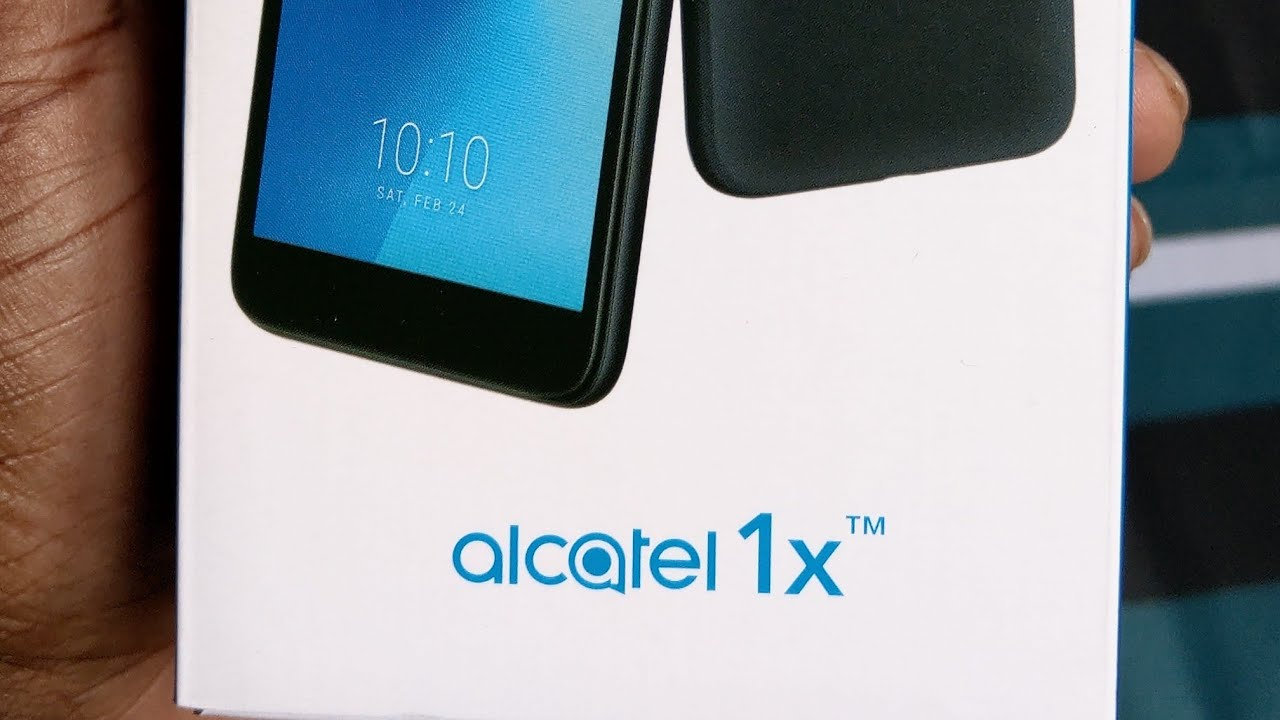 Alcatel 1X Setup, Unboxing and First Look