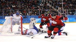 Canada advances to the men