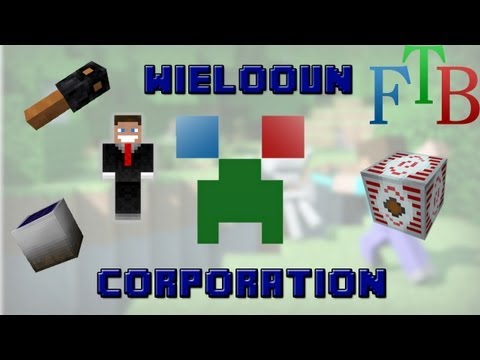 Début et Minage ! #1 Wielooun Corp. Let's Play Of Feed The Beast