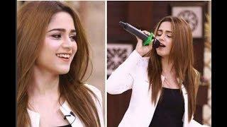 Aima Baig singing a song |Mast Malang Cha Kita| at Islamabad |Dekhty Raho TV|-HD