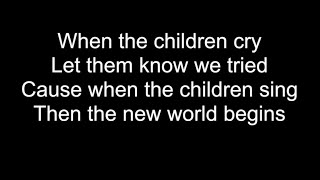 WHEN THE CHILDREN CRY | HD With Lyrics | WHITE LION cover by Chris Landmark