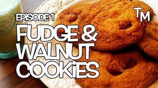 Delicious Fudge And Walnut Cookies Recipe - Tickly Mouth