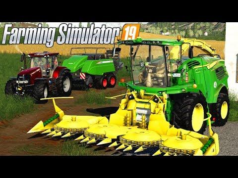 UNE ENSILEUSE JOHN DEERE ET DES MODS !!! 😃 - Farming Simulator 19