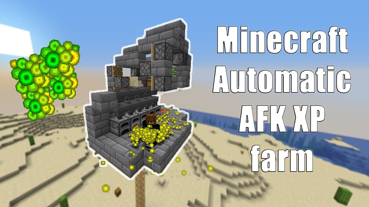 Minecraft AUTOMATIC XP farm/bank 9.95 EASY to make