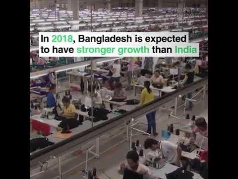 Bangladesh to overtake India & Pakistan in economic growth