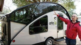 Alto Safari Condo Full Walk-Through | Teardrop Camper Trailer