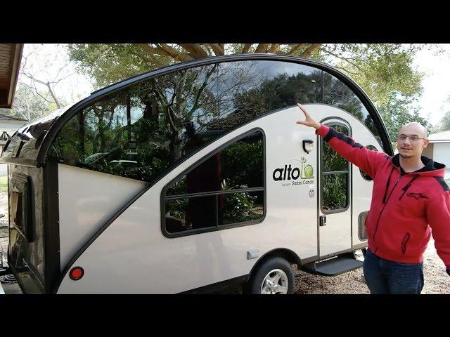 Alto Safari Condo Full Walk Through Teardrop Camper Trailer Youtube