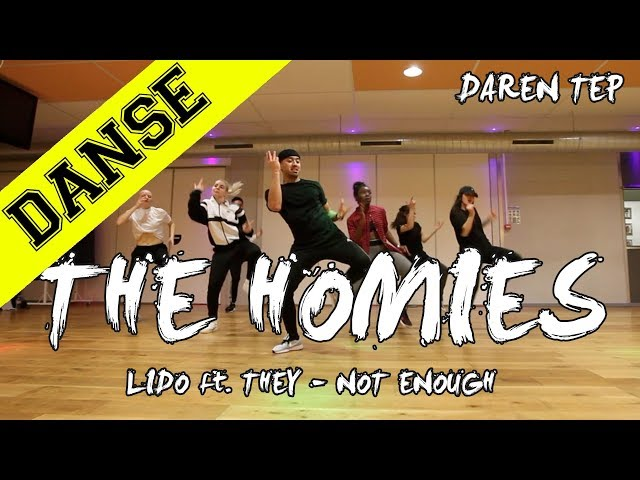 THE HOMIES CLASS X LIDO - NOT ENOUGH | DAREN TEP | INPULSE | LYON | 2018 | JP CONCEPT