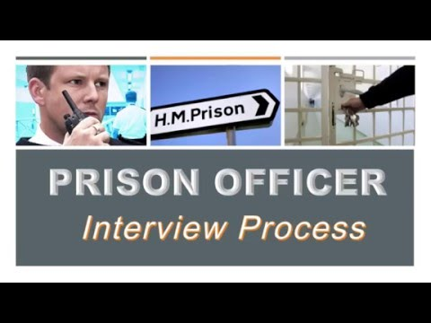 How to become a Prison Officer - The Interview Process