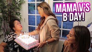 Mama V's Bday Celebration 🎂   Liane V