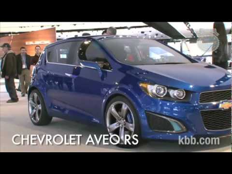 Chevrolet Aveo RS Concept Auto Show Video - Kelley Blue Book