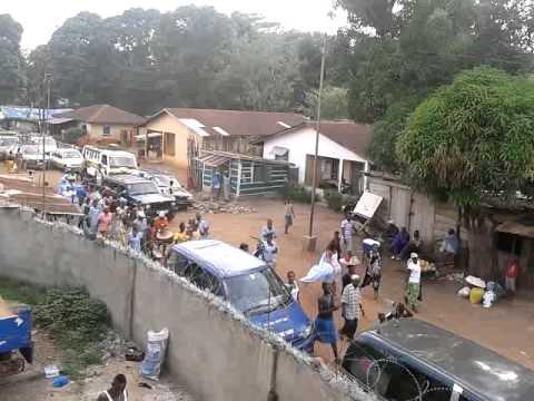 Sierra Leone Kenema city