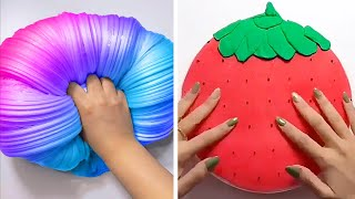 Relaxing Slime Compilation ASMR | Oddly Satisfying Video #143