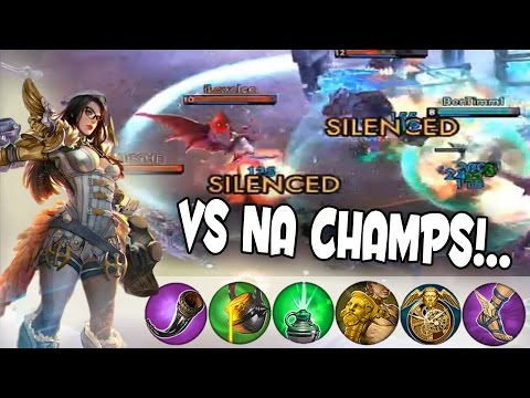 Hello North American Champs! | Vainglory [RANKED] Mob Matche