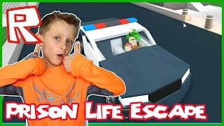 Prison Life / Driving POLICE Cars! / Roblox