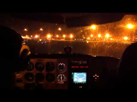 Landing at EDDN in the night