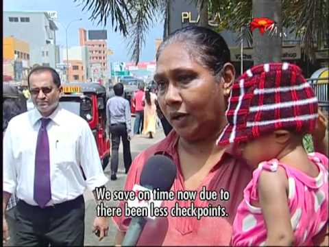 Police Department takes over Colombo Checkpoints