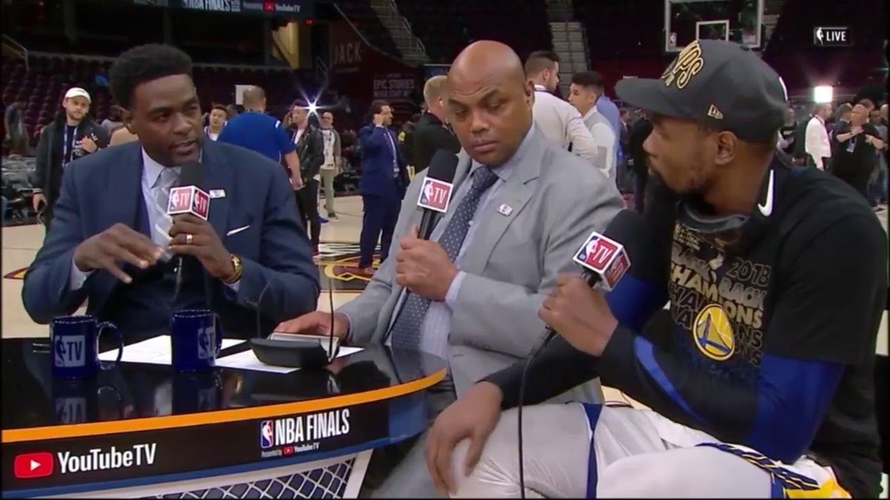 kevin-durant-talks-with-the-crew-about-winning-back-to-back-finals-mvp-june-9-2018