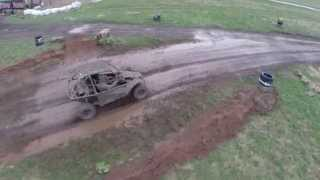 Hover Force Off Road Buggies - muddy good fun in Cheshire!