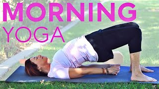 Morning Yoga for Energy 1 Hour With Fightmaster Yoga
