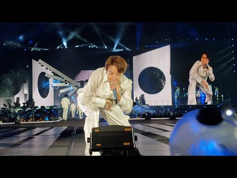 190504 Outro: Wings @ BTS 방탄소년단 Speak Yourself Tour In Rose Bowl Los Angeles Live Concert Fancam