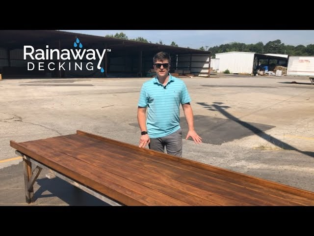 RainAway Decking - Brazilian Wood Depot