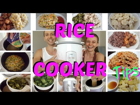 How To Use A RICE COOKER | Oats, Pasta, Potatoes, Veg, Lentils