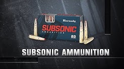 Hornady® Subsonic Ammunition