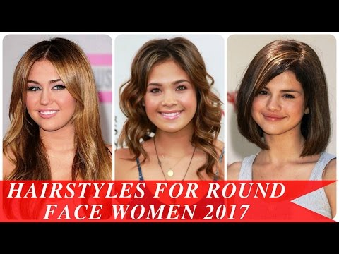 Hairstyles for round face women
