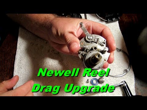 Newell P322-F Fishing Reel Tip To Increase The Drag!