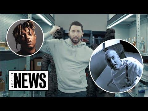 """Breaking Down Eminem & Juice WRLD's """"Godzilla"""" Video   Genius News"""