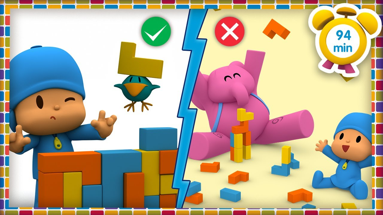 💡 POCOYO in ENGLISH - Learning Good Habits [94 min] | Full Episodes | VIDEOS and CARTOONS for KIDS