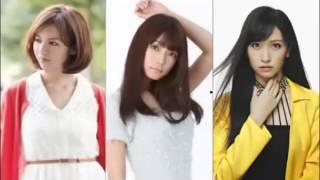 アイドリング!!!1期生の3号・遠藤舞さん、6号・外岡えりかさん、9号・...
