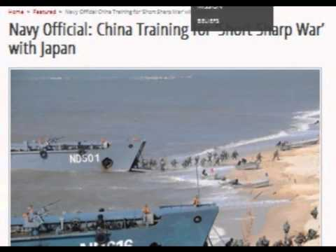 Navy Official: China Training for  War' with Japan