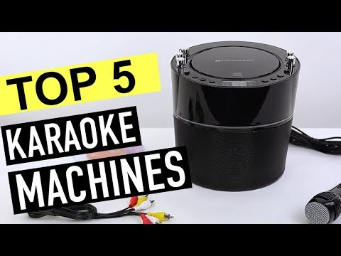BEST 5: Karaoke Machines 2019