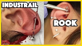 WHAT HURTS MORE AN INDUSTRAIL PIERCING OR A ROOK PIERCING!?