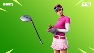 "*NEW* ""BIRDIE"" SKIN & ""DRIVER"" PICKAXE GAMEPLAY! [Low Sensitivity Fortnite Player]"