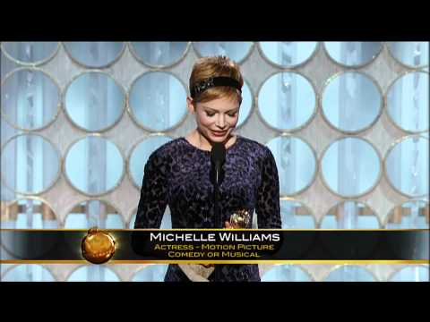 Michelle Williams Best Actress Motion Picture Comedy Or Musical