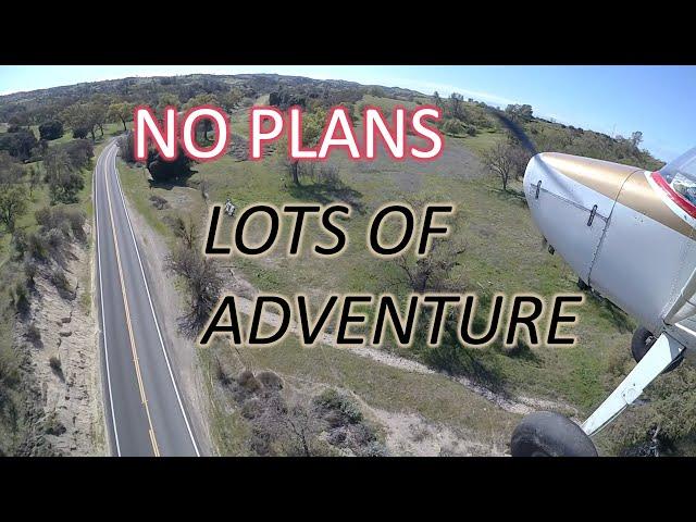 No Plans Adventure