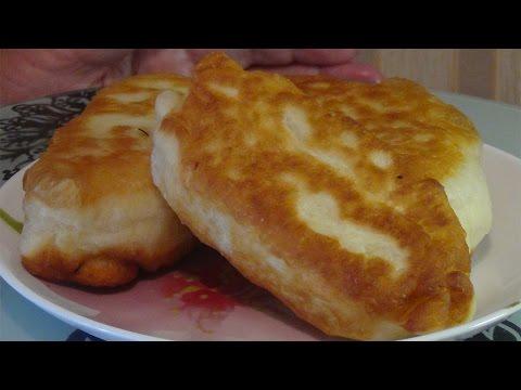 Жареные пирожки с капустой-проверенный рецепт
