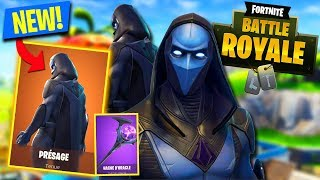 🔴LIVE EN: NEW LEGENDARY SKIN PRÉSAGE (Top #1) Palier 100 (Fortnite Battle Royale)
