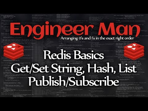 Redis Basics: Strings, Hashes, Lists, Pub/Sub