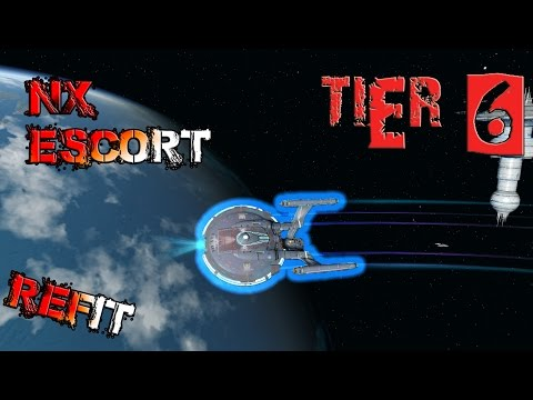 NX Escort Refit [T6] – with all ship visuals - Star Trek Online