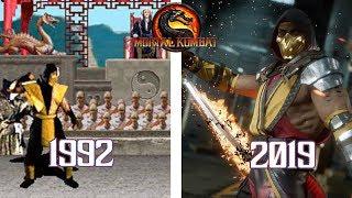 Mortal Kombat Games Evolution (1992 - 2019)