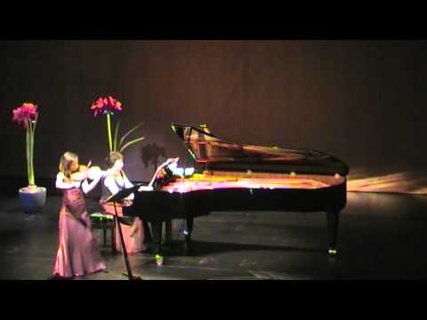 Sonata for violin and piano A-Dur - II - César Frank - Valya Dervenska, Nadja Höbarth