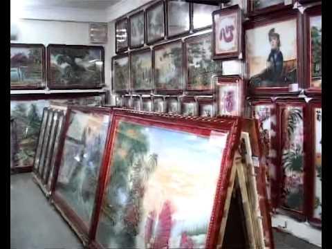 Tranh đá quý Dũng Tân - Trần Đức Lương.wmv