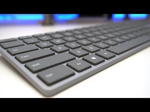 Microsoft Surface Keyboard Review - What Apple Should Have Made (and then did this past week)