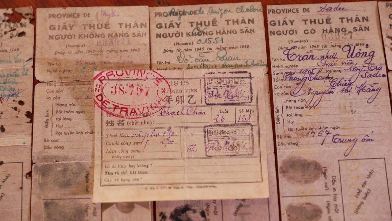 Người sưu tầm hàng nghìn hóa đơn của Sài Gòn xưa | VTV24