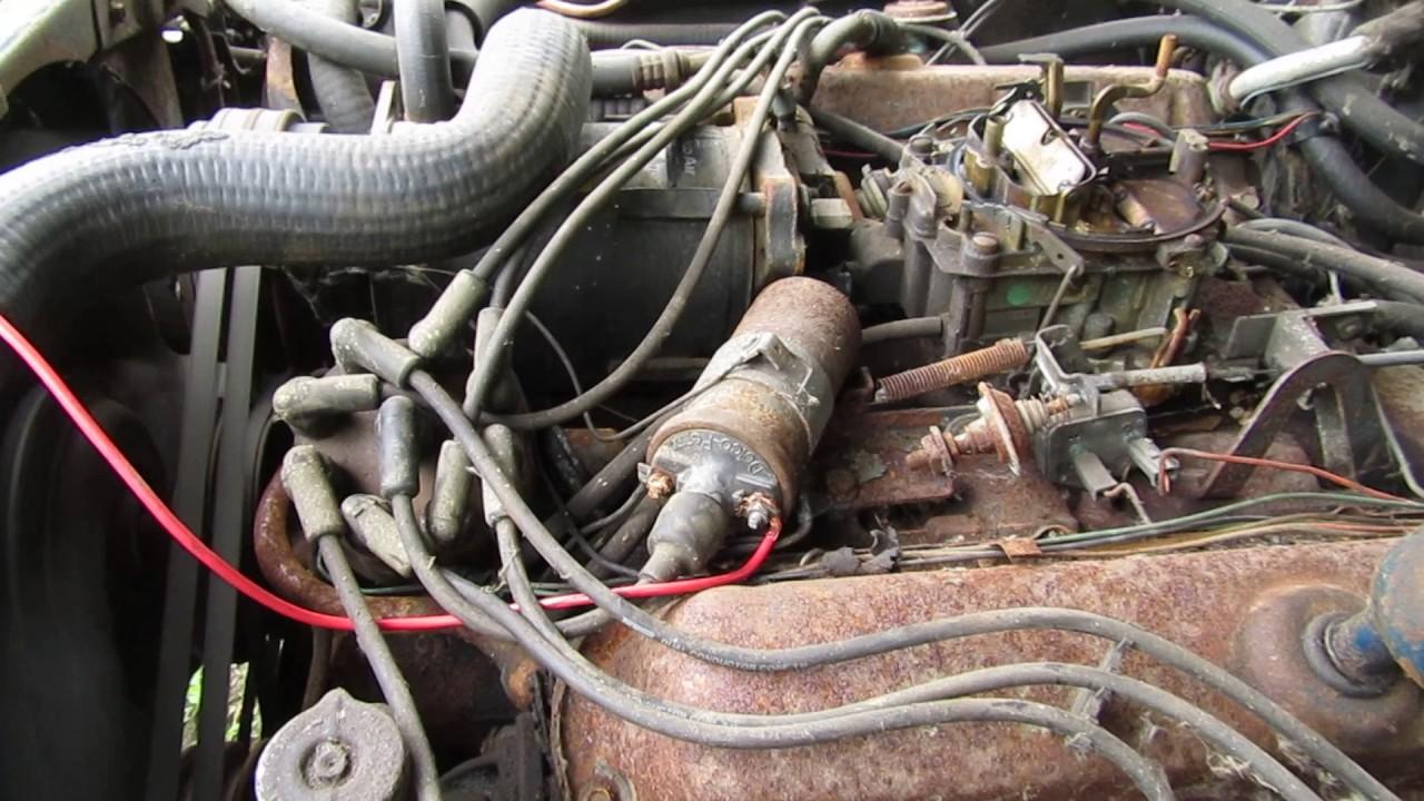medium resolution of 1968 cadillac eldorado 472 motor running