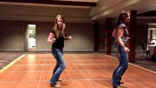 Dirt On My Boots Line Dance Demo Video